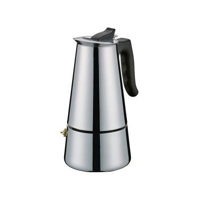 Cilio Espressokocher Adriana 6T Edelstahl Espresso Bereiter Mokka Maker Kocher | 15912 / EAN:4017166341324