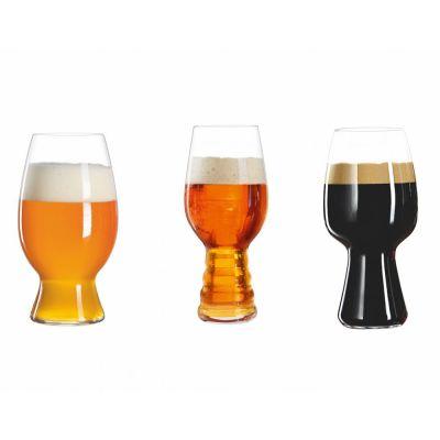 Craftbeer Tasting 3-er Set 4991693 Craft Beer Kit Biergläser Glasses Bierverkostung Bier Verkostung | 8992 / EAN:4003322247296