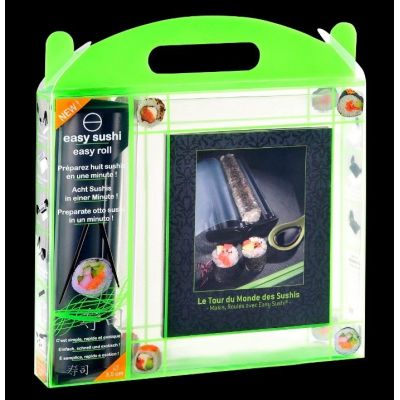 Easy Sushi Set mit Rezeptbuch zubereiten Zubehör selber machen Zubereitung Rezept Maker | 2911 / EAN:3760162480689