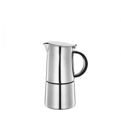 Espressokocher Nabucco für 6 Tassen Espresso Mokka kochen Edelstahl Kaffee Kaffeezubereiter | 1443 / EAN:4017166540192