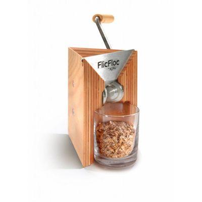 Flockenquetsche FlicFloc Getreideflocker Glas Haferquetsche Kornquetsche Flocker Tischmodell Korn   9425 / EAN:9120043060524