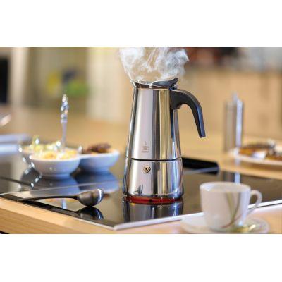 Gefu Espressokocher Emilio 2/4/6 Tassen Espressokanne Edelstahl Kaffeekocher   14869