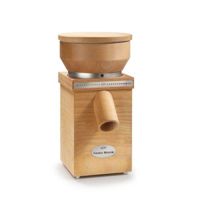 Getreidemühle Fidibus Medium Kornmühle Schrotmühle Flockenquetsche Handmühle elektrisch glutenfrei   9422 / EAN:9120043060111