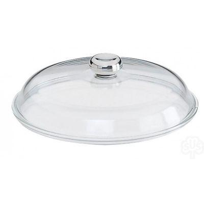 Glasdeckel alle Pfannen 24 cm Edelstahl Deckel mit Edelstahlknopf | 468 / EAN:4007257557468