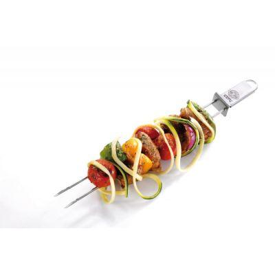 Grillspieß Twinco 2er Set Schaschlickspieße Barbecue Spieße Fleischspieße Edelstahl grillen | 10490 / EAN:4006664154208