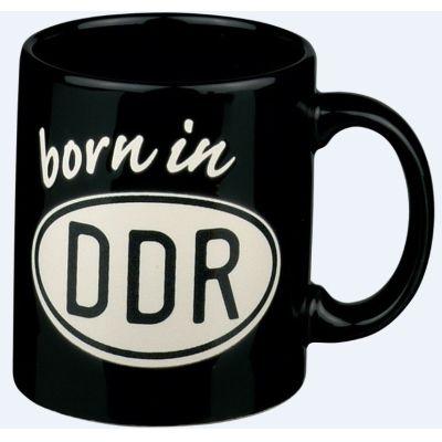 Henkelbecher born in DDR Becher Kaffeetasse Tasse Kaffee Teetasse Tee Kaffeebecher Ostdeutschland | 3908 / EAN:4004296280685