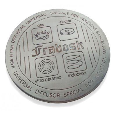 Induktionsadapterplatte 12 cm Edelstahl Induktions-Adapterplatte Induktionsadapter Adapter Induktion   10836 / EAN:8009463099004