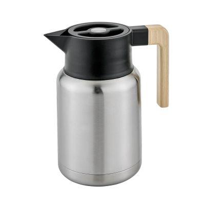 Isolierkanne Style 1,2 Liter Edelstahl Thermoskanne Teekanne Kanne Kaffeekanne Edelstahlkanne | 12350 / EAN:4017166544107