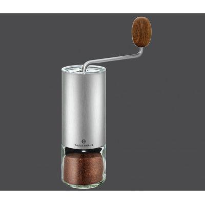 Kaffee- und Espressomühle Quito Kaffee mahlen Edelstahl Holz Kaffeemühle Espressomühle Mühle | 4494 / EAN:4006528041095