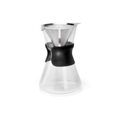 Kaffeebereiter Slow Coffee Maker Lento 880 ml Kaffeekanne mit Filter Kaffeekocher Glas Kaffee kochen | 8178 / EAN:8711871011171