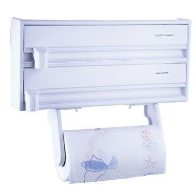 Küchenrollenspender Küchenpapierhalterung Küchenrolle Frischhaltefolie Wandpapierhalter Spender | 3962 / EAN:6957221208415
