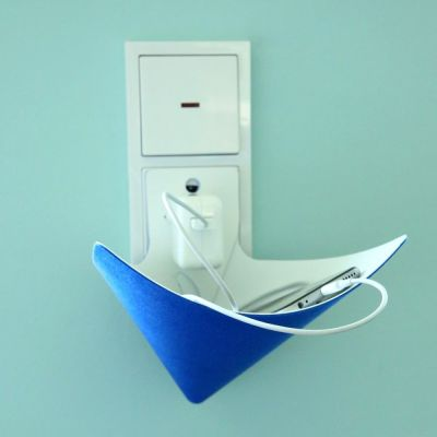 Load-Ding Ladeschale blau Handy Ladestation Smartphone MP3-Player Handyladestation Aufladestation | 7102 / EAN:4260090074886