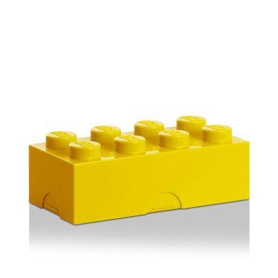 Lunchbox 8 Brotzeitdose Brotdose Brotzeit aufbewahren Picknick Brotbox blau rot gelb grün | 4052