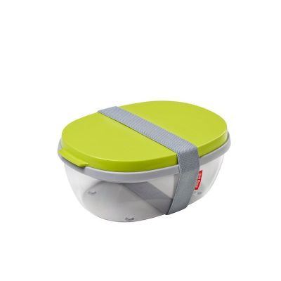 Lunchbox Brotdose Brotbox Brotzeitbox Snackbox Salatbox to go Brotzeitdose Lunch-Box BPA-frei | 8825 / EAN:8711269927060