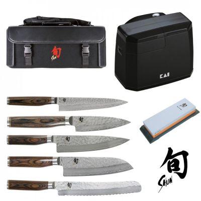 Messerserie Shun Premier Tim Mälzer Messer Küchenmesser Kochmesser Messerschärfer Messerschärfer | 11127