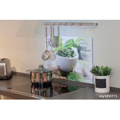 mySpotti Spritzschutz für die Küche verschiedene Motive Abdeckplatte Herd Küchen Küchenrückwand | 3673