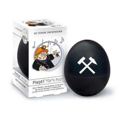 Piepei für n Pott Piep Ei Eierkocher Eieruhr 3 in 1 Frühstücksei Eier kochen Ruhrpott | 5203 / EAN:4039457012355