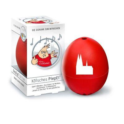 Piepei Kölsch Kölsches Piep Ei Eierkocher Eieruhr 3 in 1 Frühstücksei Eier kochen Köln | 2643 / EAN:4039457006774