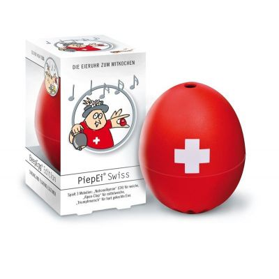 Piepei Swiss Piep Ei Eierkocher Eieruhr 3 in 1 Frühstücksei Eier kochen Schweiz Switzerland | 5211