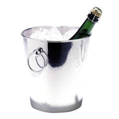 Sektkühler Flaschenkühler Sektkübel Edelstahl Kühler Flaschen Kübel Sekt Champagner | 97 / EAN:4014868003307