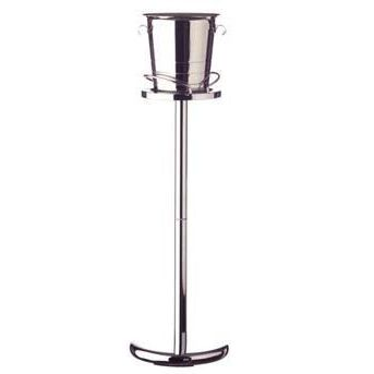 Sektkühler Sektkübel Edelstahl + Sektkühlerständer Sekt Kübel Kühler Set | 906