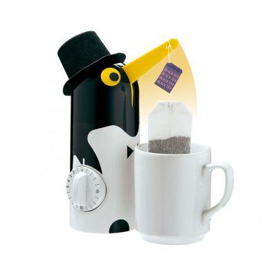 Tea-Boy Pinguin Teebeutel Teemaker Timer Teebereiter Teebeutelhalter Zeitmesser | 6938 / EAN:4007371034579