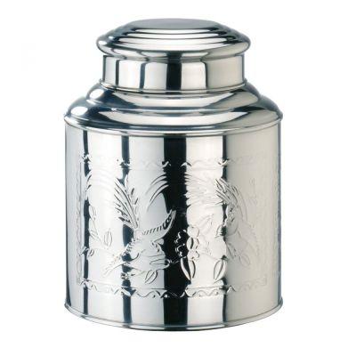 Teedose groß 1 kg Edelstahl Vorratsdose Kaffeedose Teedose Behälter Box mit Deckel Gewürzdose Teebox | 11653 / EAN:4003203469366