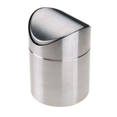 Tischabfallbehälter mit Schwingdeckel Abfalleimer Kleinabfälle Badezimmerabfall Kosmetikeimer   3263 / EAN:4006571242005