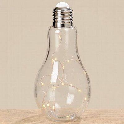 Tischleuchte Glühbirne Leuchte Tischlampe LED Nachttischlampe Stehlampe Schalter Batterie | 9019 / EAN:4020606134967