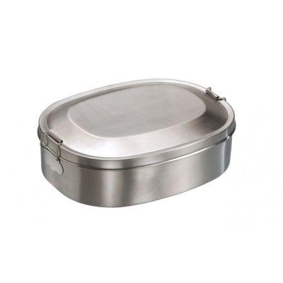 Vesperdose Break Edelstahl Lunchbox Brotzeitdose Vesperbox Brotzeitbox Frühstücksdose   4422 / EAN:4260027921757