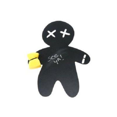Voodoo Tafel mit Kreide und Schwamm Voodoo Tafel Notiztafel Kreidetafel Wandtafel Zeichengerät | 2865 / EAN:8714302375774