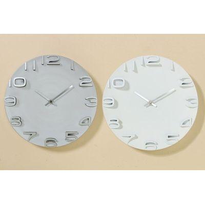 Wand-Uhr Annika Zeitmesser Wanduhr Uhr Clock Time Wohnuhr Uhrzeit Uhrzeitmesser 3D Uhr | 7190 / EAN:4020606973740