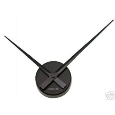 Wanduhr Little Big Time schwarz Uhr Uhrzeit   519 / EAN:8714302217142