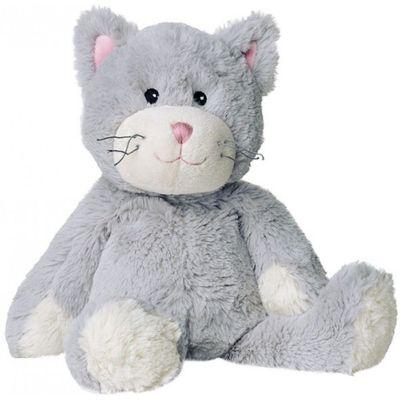 Warmies Katze grau Wärmflasche Kirschkernkissen Kuscheltier Wärmekissen Wärmetier | 8505 / EAN:4260101892331