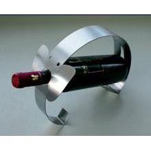 Weinflaschenhalter Weinwiege Flaschenständer Edelstahl Wein Flaschenhalter | 822 / EAN:4016214166919