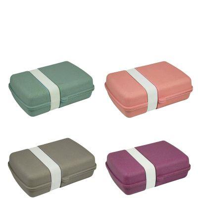 Zuperzozial Lunchbox Lunchtime versch. Farben Brotzeitbox Brotdose Brotbox Bambus Mais nachhaltig umweltfreund | 14108