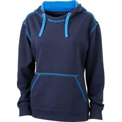 JN Ladie´s Lifestyle Zip-Hoody Navy - Cobalt, Grösse L | jn962xxx01-300-381 / EAN:0651650570124
