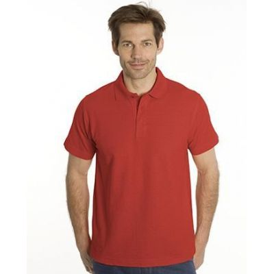 SNAP Polo Shirt Star - Gr.: S, Farbe: rot | 1500114-100-04 / EAN:0651650570018