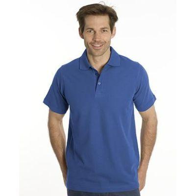 SNAP Polo Shirt Star - Gr.: S, Farbe: royal | 1500114-100-07 / EAN:0651650570018