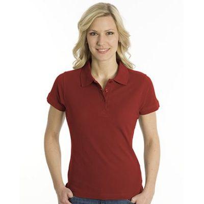 SNAP Polo Shirt Top-Line Women dunkelrot, Grösse L | 160028-300-68 / EAN:0651650570094