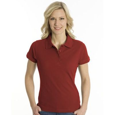 SNAP Polo Shirt Top-Line Women dunkelrot, Grösse XL | 160028-400-68 / EAN:0651650570094