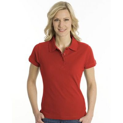 SNAP Polo Shirt Top-Line Women rot, Grösse 2XL | 160028-500-04 / EAN:0651650570094