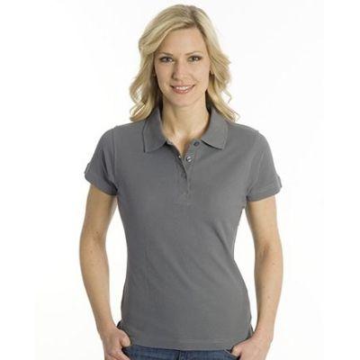 SNAP Polo Shirt Top-Line Women stahlgrau, Grösse XL | 160028-400-44 / EAN:0651650570094