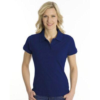 SNAP Polo Shirt Top-Line Women tiefdruckfarbe blau, Grösse 2XL | 160028-500-172 / EAN:0651650570094