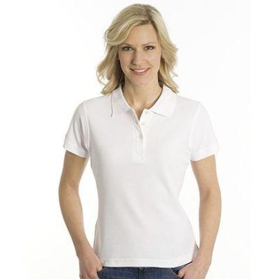 SNAP Polo Shirt Top-Line Women weiss, Grösse S | 160028-100-01 / EAN:0651650570094