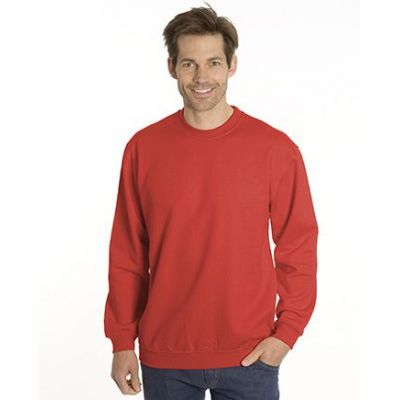 SNAP Sweat-Shirt Top-Line, Gr. 4XL, Farbe rot | 040102-700-04 / EAN:0651650570049