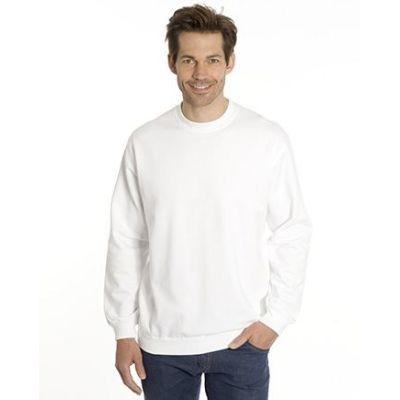 SNAP Sweat-Shirt Top-Line, Gr. 4XL, Farbe weiss | 040102-700-01 / EAN:0651650570049