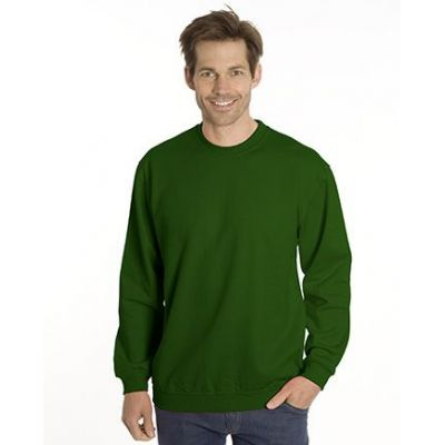 SNAP Sweat-Shirt Top-Line, Gr. 5XL, Farbe flaschengrün | 040102-800-15 / EAN:0651650570049