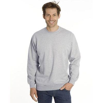 SNAP Sweat-Shirt Top-Line, Gr. 6XL, Farbe grau meliert | 040102-900-17 / EAN:0651650570049