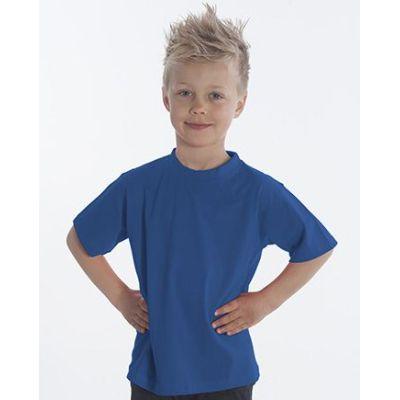 SNAP T-Shirt Basic-Line Kids, Gr. 116, Farbe royal | 060119-200-07 / EAN:0651650570032